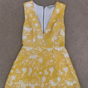 Alice and Olivia embroidered dress ,size 2